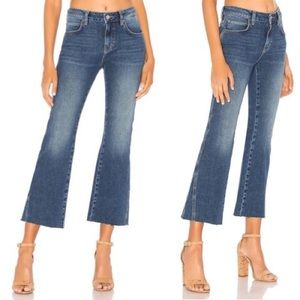 Free People NWOT Cropped Flare Jeans